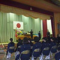 福島市立渡利中学校平成29年度第71回卒業証書授与式