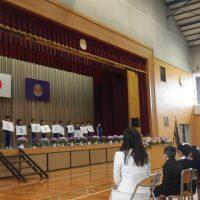 福島市立渡利小学校平成30年度入学式