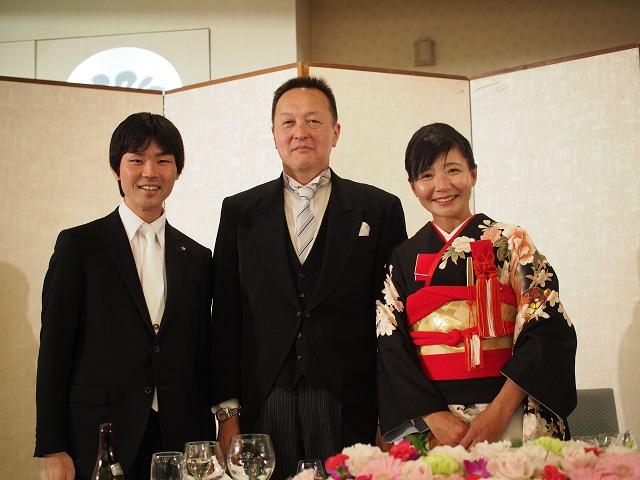 福島市議会創政クラブ結メンバーの結婚披露宴