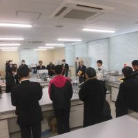 福島市保健所の検査棟及び犬猫保護施設の内覧会