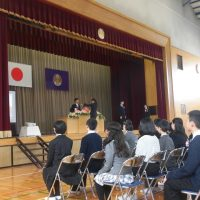 福島市立渡利小学校平成29年度卒業証書授与式