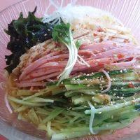 中華十八番拌拌冷麺