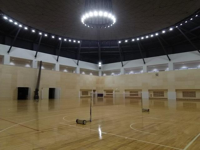 福島市体育館・武道場内覧会