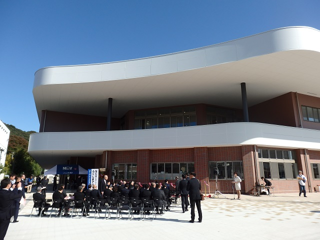 NCVふくしまアリーナ(福島市体育館・武道場)落成式
