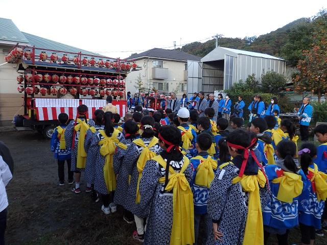福島市小倉寺の秋祭り