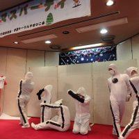 福島聴力障害者会・手話サークルやまびこ会共催のクリスマスパーティー