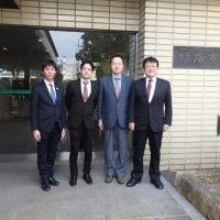 会派の行政視察(兵庫県姫路市役所)