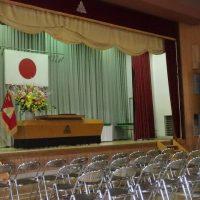 福島市立渡利中学校平成30年度第72回卒業証書授与式