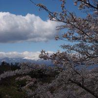 福島市花見山公園からの吾妻小富士