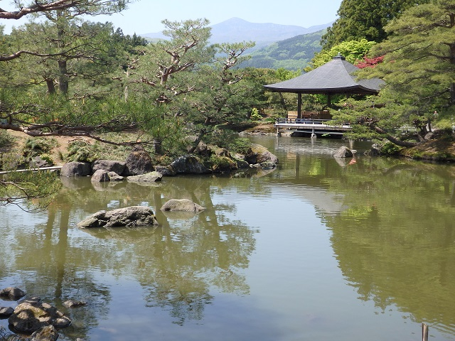 東北の名庭園浄楽園(福島市)