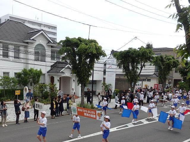 令和元年度第42回福島市小学校鼓笛パレード