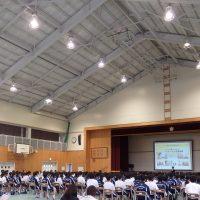 インターネット安全教室(那須塩原市立東那須野中学校)