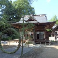 福島市渡利の春日神社夏越祭