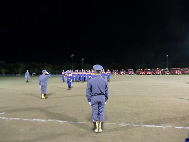 令和元年度福島市消防団第二方面隊規律訓練