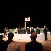 令和元年度福島市戦没者追悼式