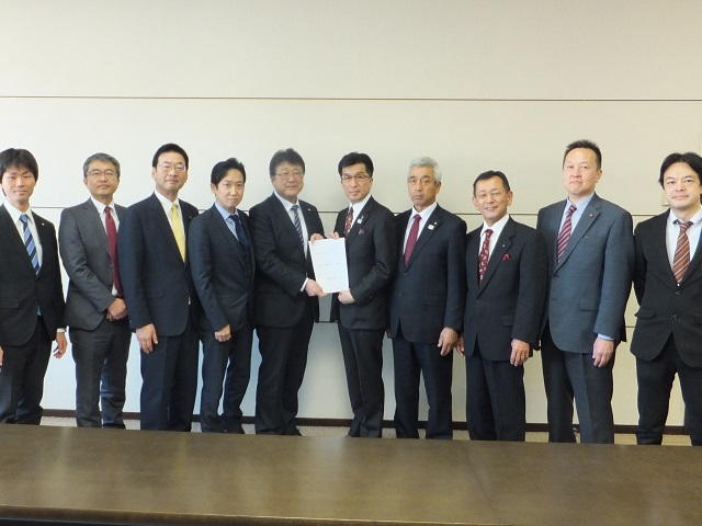 令和2年度福島市予算編成に対する要望