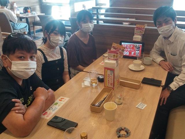 朝カフェの会 in 福島市