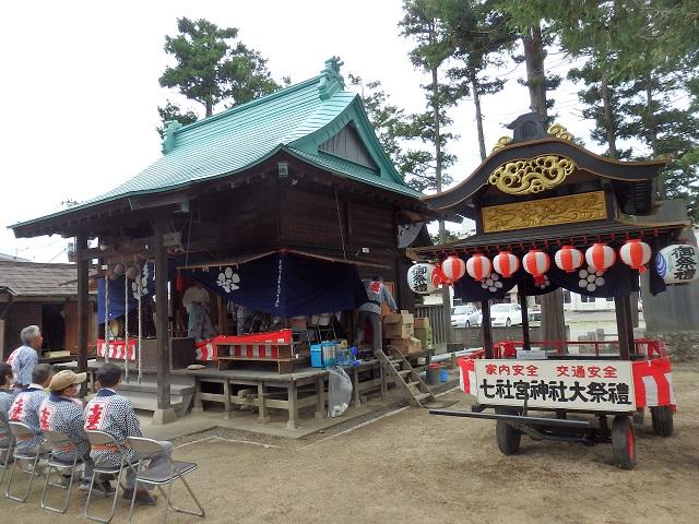 七社宮神社例大祭