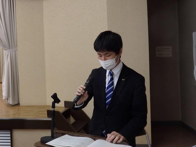 福島市議会令和2年秋季議会報告会・意見交換会